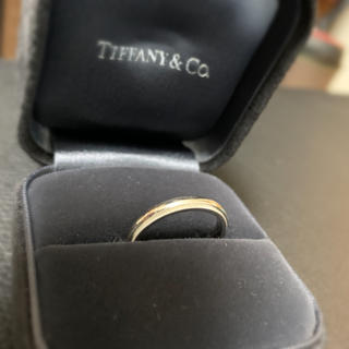 ティファニー(Tiffany & Co.)の【Tiffany】ミルグレイン プラチナ(リング(指輪))