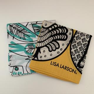 リサラーソン(Lisa Larson)のリサラーソン LISALARSON ハンカチ 2枚  新品(ハンカチ)