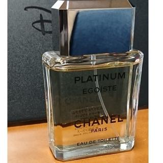 CHANEL - CHANEL PLATINUM egoist eaudetoilette
