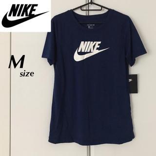 NIKE - 【定価3850円】NIKE ビッグロゴ 半袖Tシャツ 紺色 Mサイズ