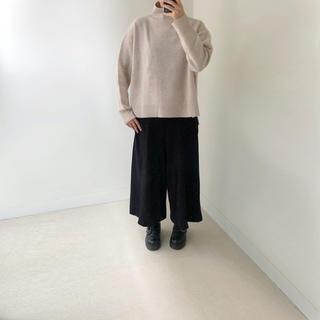 LE CIEL BLEU - ★確認ページ★ほぼ新品★ルシェルブルー ウールセーター