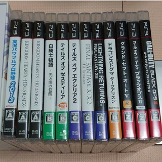 PlayStation3 - PS3ソフト ゲームセット