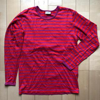 marimekko - marimekko ボーダー 長袖Tシャツ S