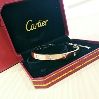 カルティエ(Cartier)の超美品Cartier ブレスレット バングル ダイヤモンド 人気新品(ブレスレット/バングル)