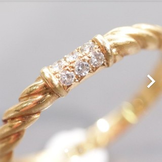 トクトクジュエリー ニナリッチ ダイヤモンド 18金 リング(リング(指輪))