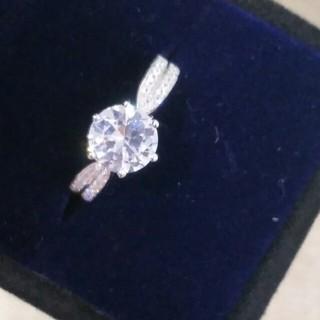 ティファニー(Tiffany & Co.)の美品Tiffany&Co リング 指輪 ギラギラ レディース  正規品(リング(指輪))