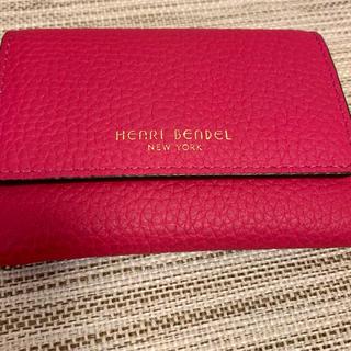 Henri Bendel - ヘンリベンデル  名刺入れ カードケース コインケース