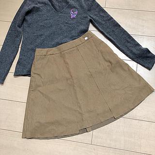 フォクシー(FOXEY)の未使用フォクシー近年タグスエード調スカート(ひざ丈スカート)