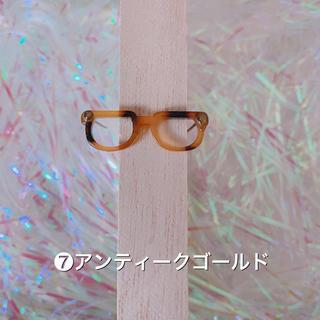 ドール用メガネ ❼ ハンドメイド   バービー(ミニチュア)