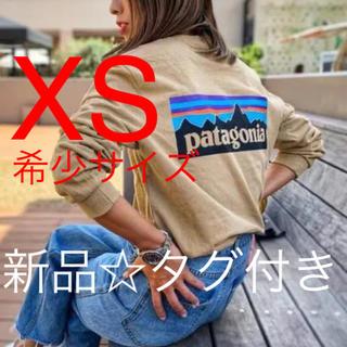 patagonia - 新品パタゴニア ロンT ベージュ XS メンズ レディース 長袖 BRTA
