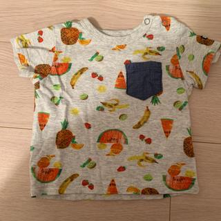 ブリーズ(BREEZE)のBREEZE はらぺこあおむし ティーシャツ Tシャツ 70センチ(Tシャツ)