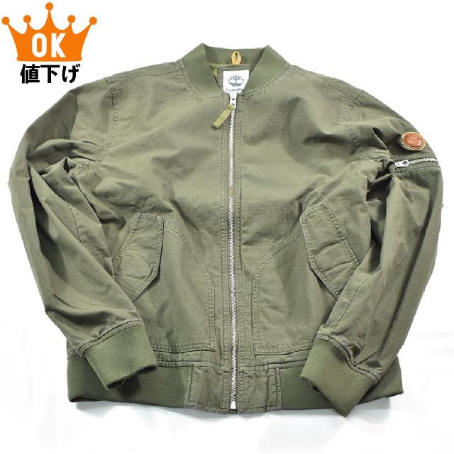 Timberland(ティンバーランド)のティンバーランド リップストップ ミリタリー ジャケット[XL] メンズのジャケット/アウター(ミリタリージャケット)の商品写真