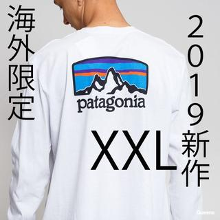パタゴニア(patagonia)のXXL 日本未発売 パタゴニア 新品ロングスリーブ フィッツロイ ホライゾンズ(Tシャツ/カットソー(七分/長袖))