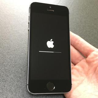 iPhone - SIMフリー iPhoneSE 64GB spaceglay