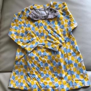 ラグマート(RAG MART)のラグマート 長袖ワンピース 90サイズ(ワンピース)