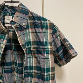 ギャップ(GAP)のGAP×lived in マルチカラー半袖シャツ(シャツ)