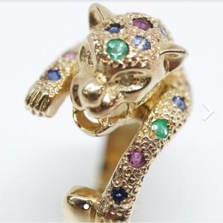 トクトクジュエリー ダイヤモンド ルビー エメラルド サファイア 18金 リング(リング(指輪))