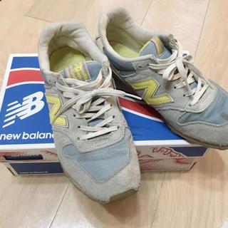 New Balance - ニューバランス 996 イエロー 24cm