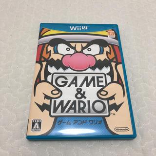 ウィーユー(Wii U)のゲーム&ワリオ Wii Wii U ソフト(家庭用ゲームソフト)