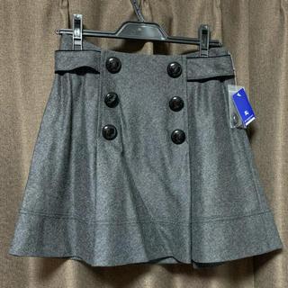 バーバリーブルーレーベル(BURBERRY BLUE LABEL)のバーバリーブルーレーベルBURBERRY人気ブランド値下ロゴ入スカート新品(ひざ丈スカート)