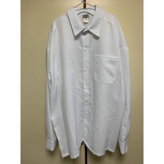 カルトップ(CALTOP)のキャルトップ ビッグシルエット長袖シャツ カルトップ 白 大きいサイズ(シャツ)