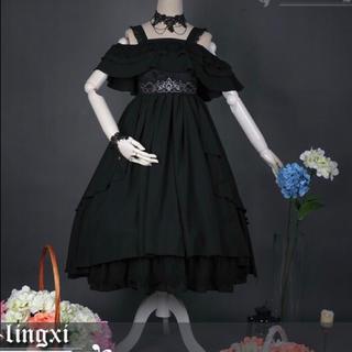 アンジェリックプリティー(Angelic Pretty)のlingxiの精霊 ジャンパースカート(ひざ丈ワンピース)