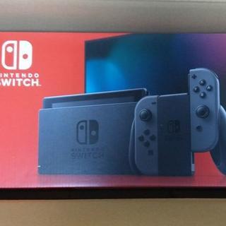 ニンテンドースイッチ(Nintendo Switch)の新品 新型 Nintendo Switch グレー(家庭用ゲーム機本体)