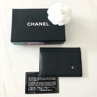 CHANEL - CHANEL カメリア カード 定期 ケース