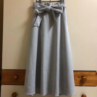 GU - GU グレー ロングスカート