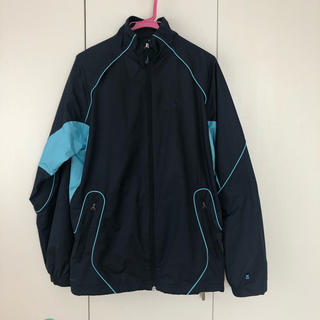 NIKE - ナイキ ウォームアップスーツ上下セット 紺×水色
