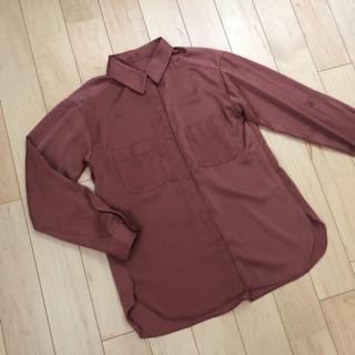 ジーユー(GU)のシャツ GU(シャツ/ブラウス(長袖/七分))