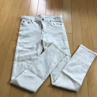 白パンツ ズボンL(カジュアルパンツ)