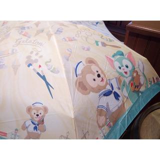 ダッフィー - 【セール】ダッフィー ジェラトーニ 折りたたみ傘 香港ディズニー限定
