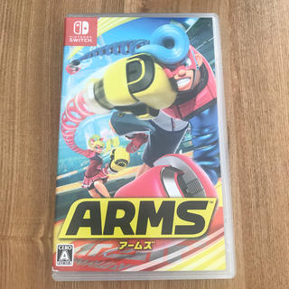 Nintendo Switch - ARMS アームズ スイッチ カセット