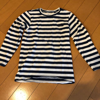 ザノースフェイス(THE NORTH FACE)のザノースフェイス ボーダーロンT キッズ110(Tシャツ/カットソー)