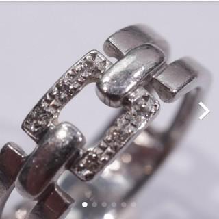 トクトクジュエリー プラチナ ダイヤモンド リング(リング(指輪))