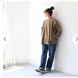 maillot  マイヨ  チノヘンリーシャツ 新品未使用 unisex