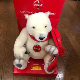 コカコーラ(コカ・コーラ)のSteiff シュタイフ COCA COLA POLAR BEAR(ぬいぐるみ)