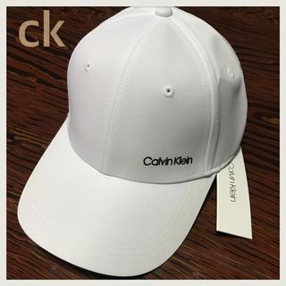 Calvin Klein - 【希少デザイン】ラスト1点★カルバンクライン  白キャップ 帽子