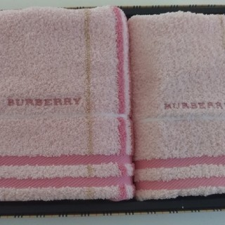 BURBERRY - BURBERRYタオルセット