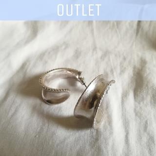 TOMORROWLAND - 【※ワケあり※】design hoop pierce *