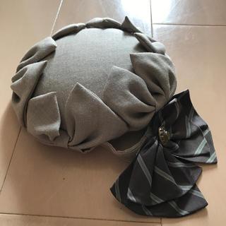CA4LA - アノンハット リボンベレー シュエット バラの帽子