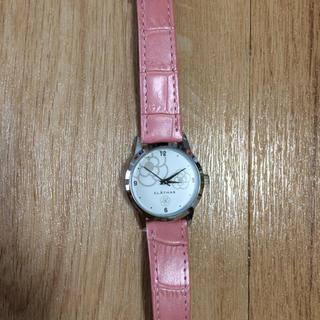 クレイサス(CLATHAS)のクレイサス ★腕時計★ピンク★換えベルト付き(腕時計)