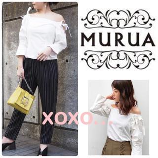 ムルーア(MURUA)のMURUA オフショルブラウス(シャツ/ブラウス(長袖/七分))