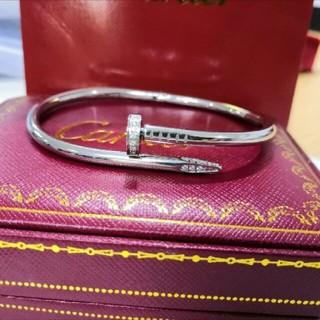 カルティエ(Cartier)の極美品 カルティエ ブレスレット 釘 シルバー (ブレスレット/バングル)
