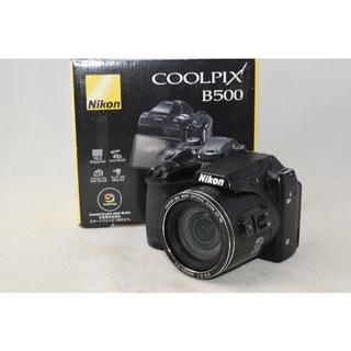 Nikon - 展示品☆Nikon COOLPIX B500 ブラック ☆単三電池使用