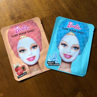 バービー(Barbie)の【新品】Barbie  ピュア マスクシート(パック/フェイスマスク)