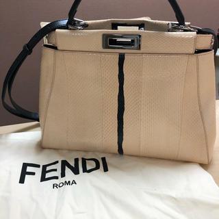 FENDI - FENDI  ピーカブーパイソン レギュラー