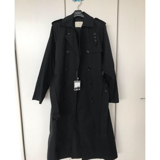 ルカ(LUCA)のルカ ブラックトレンチコート 新品タグ付き maki美様 ご専用(トレンチコート)