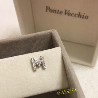 PonteVecchio - PonteVecchio Mダイヤピアス 片耳